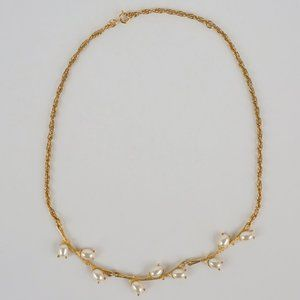 Sarah Coventry Jewelry - Vintage Sarah Coventry Faux Pearl Branch Necklace